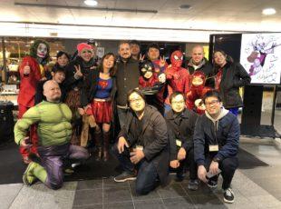 KitaQ Comic AiR :JR小倉駅JAM広場横でライブドローイングイベント
